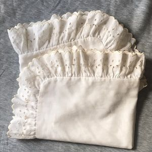 Other - Standard size ruffled shams